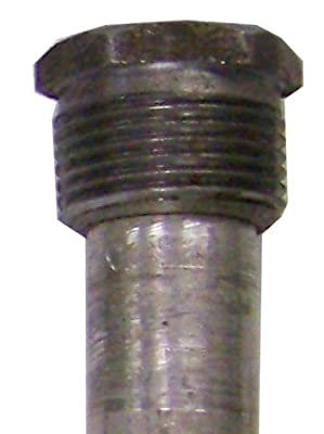 Blue Lightning Aluminum / Zinc Flexible Anode Rod, Hex Plug, 42""