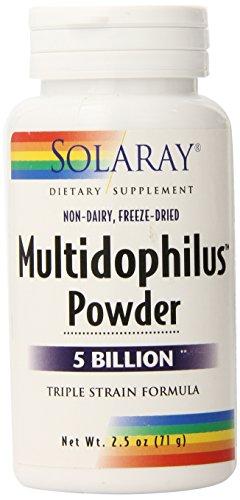 Solaray Multidophilus Powder, 2.5 Ounce