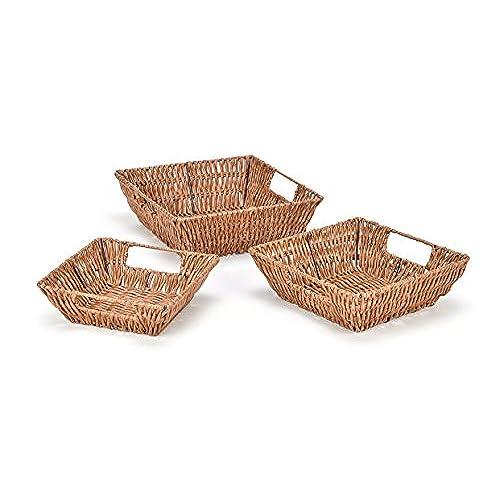 small woven baskets. Black Bedroom Furniture Sets. Home Design Ideas