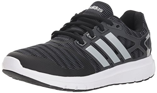 adidas Women's Energy Cloud V Running Shoe, Black/Matte Silver/Carbon, 8 M ()