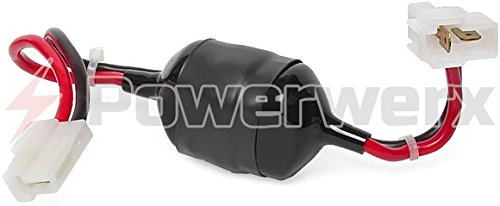Powerwerx LF-1-OEM DC Line Noise Filter (20 Amps max) with OEM-T in-Line Connectors