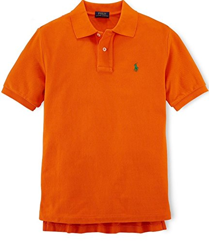 Ralph Lauren Boys Classic Cotton Mesh Polo Shirt (XL 18-20)