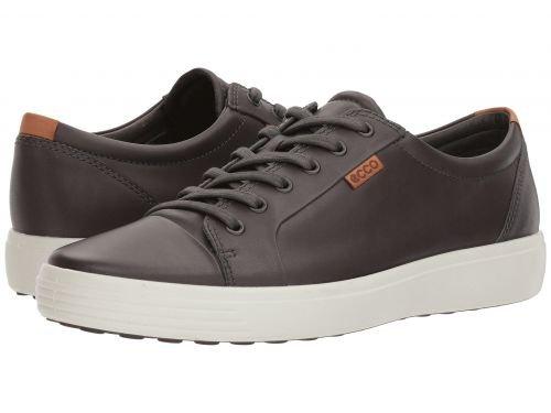 ECCO(エコー) メンズ 男性用 シューズ 靴 スニーカー 運動靴 Soft VII Sneaker - Magnet [並行輸入品] B07BLPYHGS