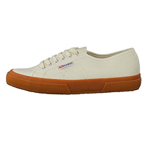 Adulto Superga Sneakers 2750 GUM Cotu IVORY Classic Unisex XdXtrwgx