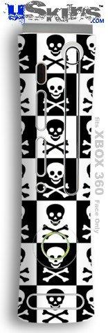 XBOX 360 Faceplate Skin - Skull (Checkerboard Face)