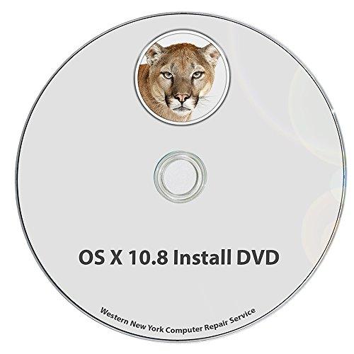 Mac OS X 10.8 Mountain Lion v. 10.8.5 Full OS Install - Reinstall / Recovery Upgrade Downgrade / Repair Utility Factory Reset Disk Drive Disc CD - Mountain Os Lion 10 8 Mac X