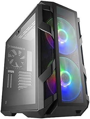 Cooler Master MasterCase H500M ARGB - Caja PC con Dos Ventiladores ...