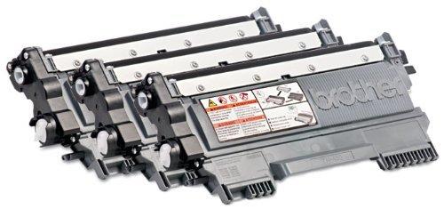 Genuine Brother TN450 (TN-450) Black Toner Cartridge 3-Pack