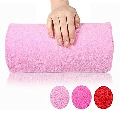 Manicura Almohada Reposabrazos Almohadillas Almohada Cojín Uña Brazo Herramienta Herramienta Reposabrazos Nail Art Manicure Equipment - Rosa
