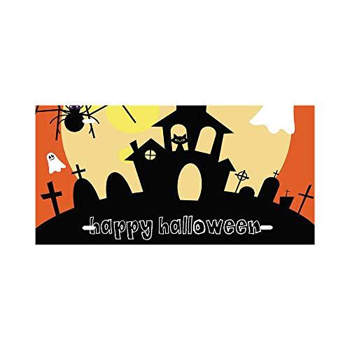 Halloween Music for Kids Instrumental  Fun Spooky Aluminum License Plate - Aluminum License Plate, Front License Plate, Vanity -