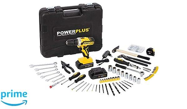 POWERPLUS POWX00825 - Taladro/atornillador 20v li-ion 2batt ...