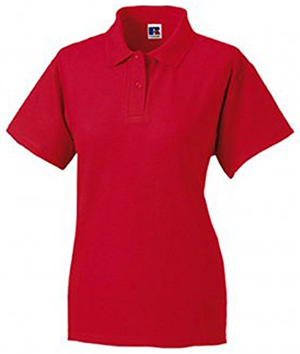 Jerzees Ladies Pique Polo Shirt 16 Classic Red
