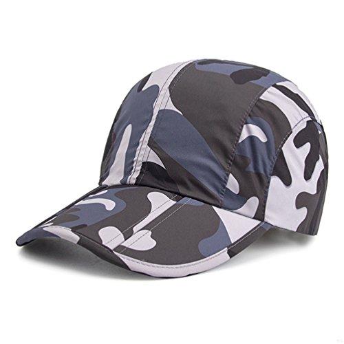 928340a2aca GADIEMENSS Quick Dry Sports Hat Lightweight Breathable Soft Outdoor Running  Cap (Classic series