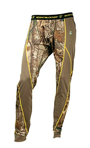 Scent Blocker 1.5 Base Layer Pant, Mossy Oak Country (X-Large)