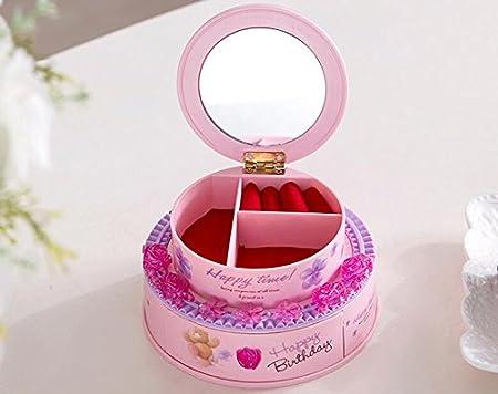 Zoraq Birthday Cake Design Music Box Jewelry Box For Birthday
