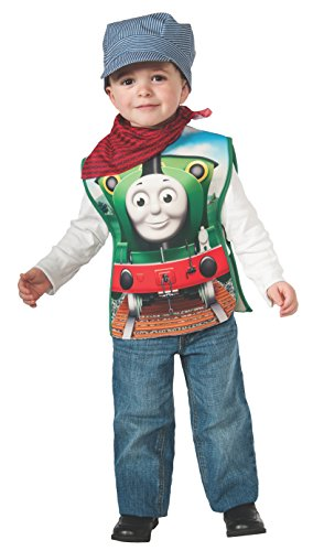 Percy The Train Halloween Costume (Rubies Thomas and Friends: Percy The Small Engine Costume, Toddler)
