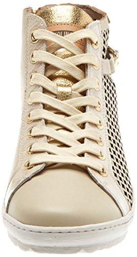 Alto Pikolinos A Lagos Beige Sneaker marfil Collo Donna 901 wqv7qnXAU
