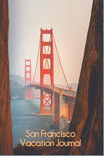 San Francisco Vacation Journal: Compact College Ruled Lined Travel Planner Blank Notebook ()