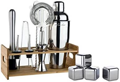 Cocktail Set 13Piece Bartender Strainer 4Whiskey product image