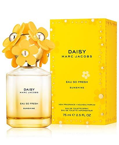 (Marc Jacobs Daisy Eau So Fresh Sunshine Eau de Toilette Spray for Women, 2.5 Ounce)