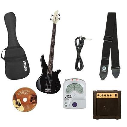 Amazon Com Yamaha Gigmaker Electric Bass Package With Amp Gig Bag