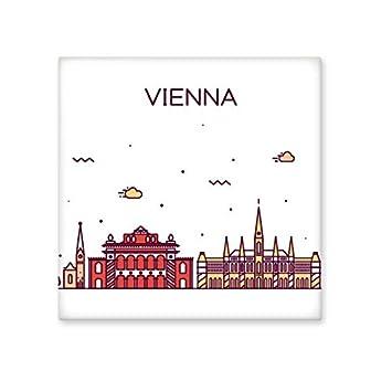 Viena Austria soporte de Landmark patró n de cerá mica crema decoració n de decoració n de azulejos para bañ o cocina azulejos de pared azulejos de cerá mica DIYlab share00076572f178-M