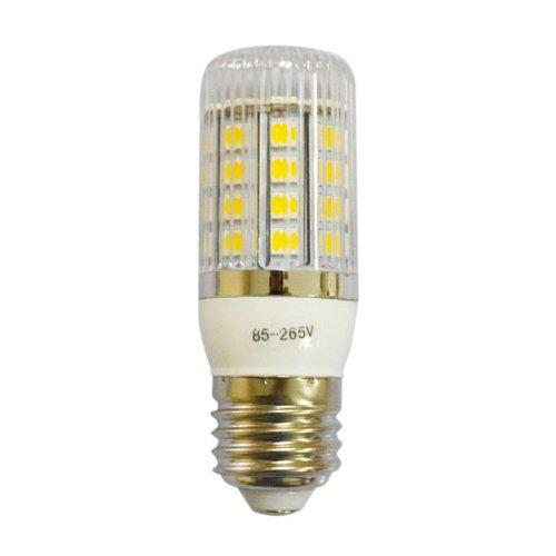ZONO Brightness Adjustable Dimmable E27 7W 5050 SMD 36 LED Corn Light Bulb Lamp w/ Stripe Plastic Cover