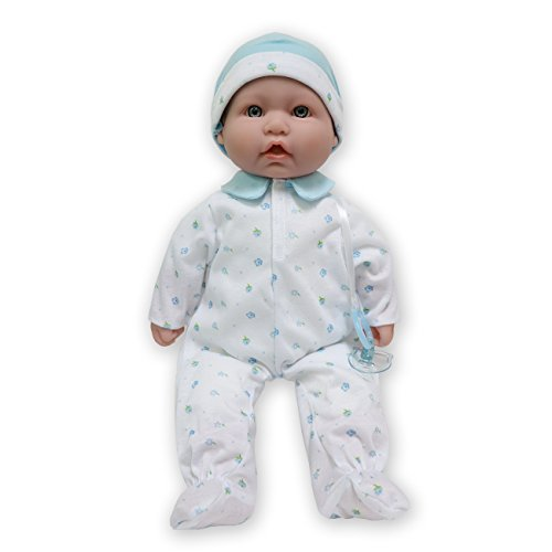 JC Toys, La Baby 16-inch Washable Soft Body Blue Play Doll - For Children 2 Years Or Older, Designed by Berenguer