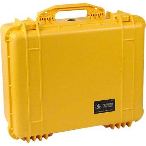 Pelican 1550 Camera Case With Foam (Yellow)