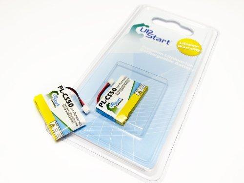 2x Pack - Replacement Battery for Plantronics CS55, CS50, CS60, HL10, 65358-01, CS60, CS50-USB - UpStart Battery brand with