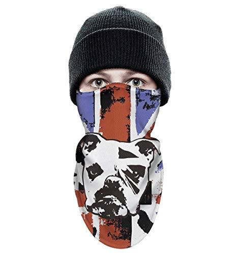 BingGuiC Ski Mask for Men Women UK English Bulldog Art Windproof Sports  Balaclava Ski Face Mask 2e640f16c4