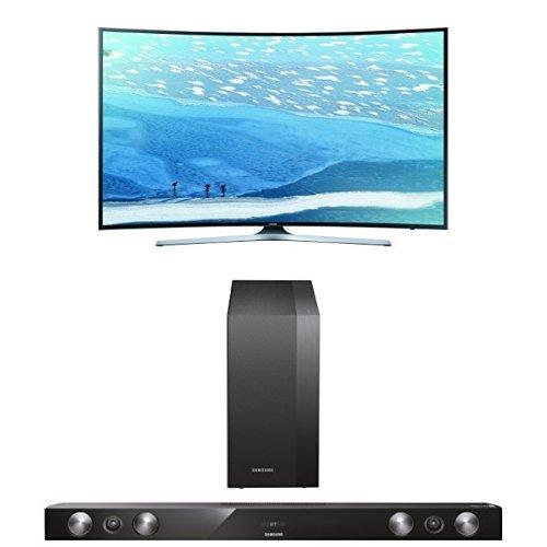 Samsung UE65KU6179UXZG Fernseher + HW-H430/EN 2.1 Soundbar