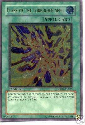 Yu-Gi-Oh! - Flash of the Forbidden Spell (CDIP-EN038) - Cyberdark Impact - 1st Edition - Ultimate Rare