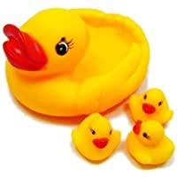 Creative Kids Duck Family Baby Toys-Set of 4 (Premium Quality Baby Toys)