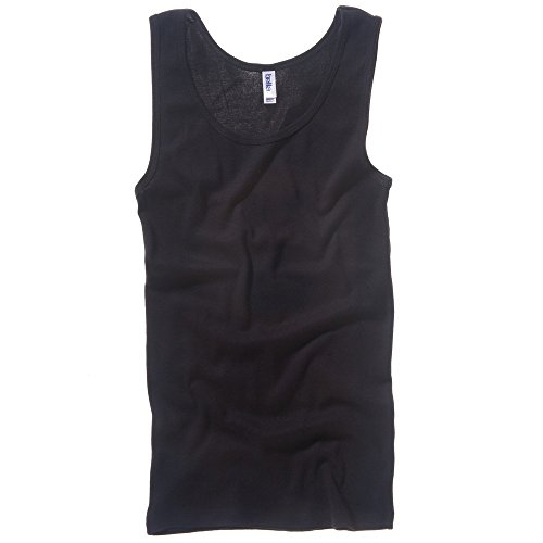 Bella+Canvas Baby rib tank top Black M