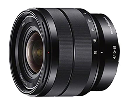 Sony SEL1018 10-18mm Wide-Angle Zoom Lens (Black) Camera Lenses at amazon