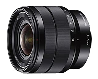 Sony - E 10-18mm F4 OSS Wide-angle Zoom Lens (SEL1018) (B0096W1ONK) | Amazon Products