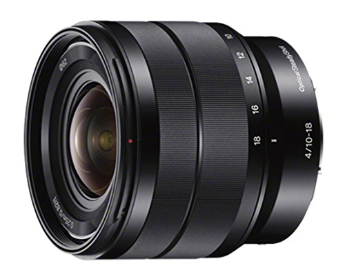 Sony 10-18mm Wide-Angle Zoom Lens