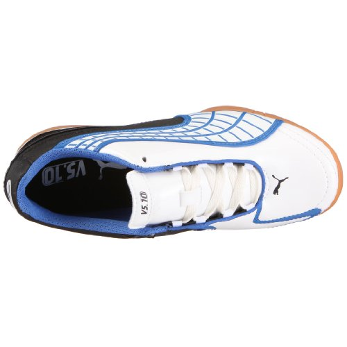 Puma 101833 08 V5.10 it Jr, – Zapatillas deportivas para fútbol Weiss (white pearl-black-puma royal)