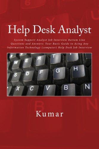 help desk technician interview questions