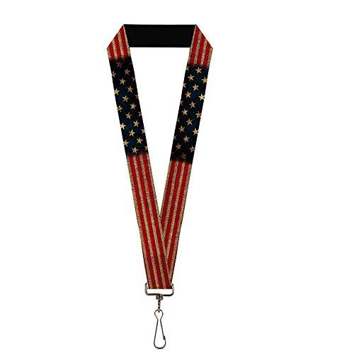 American Flag Lanyard - 3