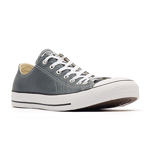 Converse Leather All Star, Unisex - Erwachsene Sneaker Gris - Admiral Grey