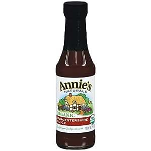 Annie's Organic Worcestershire Sauce Vegan 6.25 fl oz Bottle