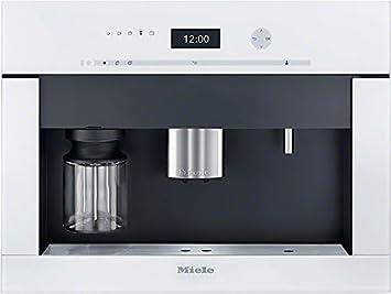 Miele CVA 6401 BRWS - Cafetera (Integrado, Color blanco, Granos de café, De café molido, 2,3L, Totalmente automática, 2m): Amazon.es: Hogar