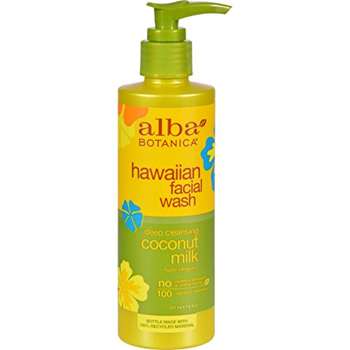 Alba Botanica Hawaiian Facial Wash Coconut Milk - 8 fl oz