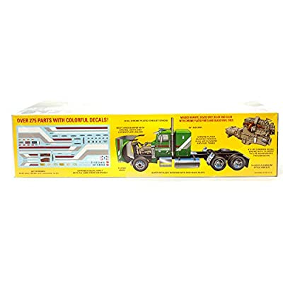 AMT Freightliner FLC Semi Tractor - Super Detailed 1/24 Scale Model Big Rig Truck Model Kit: Toys & Games
