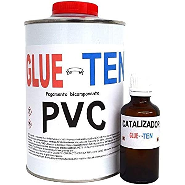 Glueten - Pegamento PVC para Zodiac, Neumáticas y Semirrígidas: Amazon.es: Deportes y aire libre