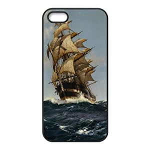 CHENGUOHONG Phone CaseSailing & Tall Ship For Apple Iphone 5 5S Cases -PATTERN-7