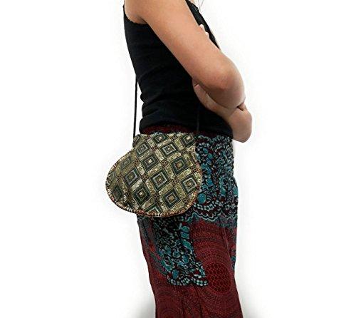 49ers Petite Purse (Kraft4Life Handmade Embroidery Cotton Crossbody Shoulder Cellphone Coin Purse Bag (005))
