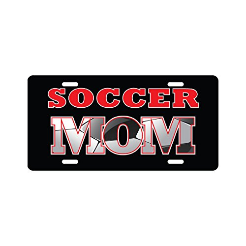 SOCCER MOM License Plate Funny Novelty Tag